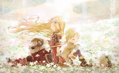 Lyza and riko made in abyss anime
