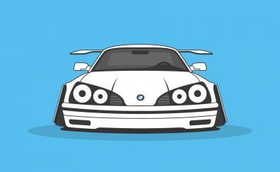 Bmw car art