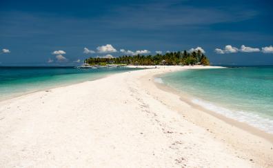 Summer, beach, nature, island