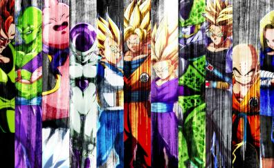 All characters collage dragon ball fighterz