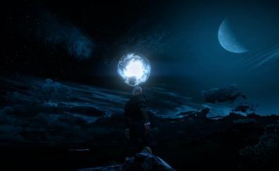 Dark night the witcher 3 wild hunt