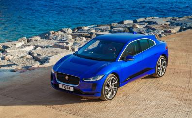 Luxury sedan jaguar i pace