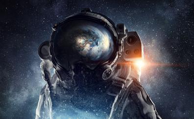 Fantasy, astronaut, space