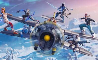 Aircraft, 2018 Fortnite, winter