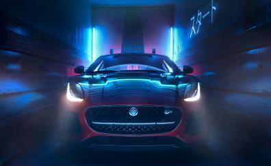 Headlight jaguar f type