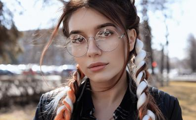 Glasses face dua lipa