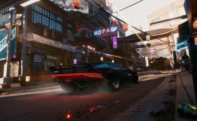 Cyberpunk 2077 car 2018