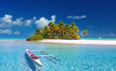 South sea island france