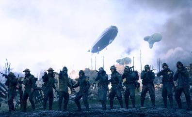 Battlefield 1 video game soldiers