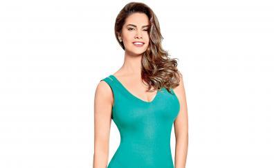 Esha gupta blue dress hot actress