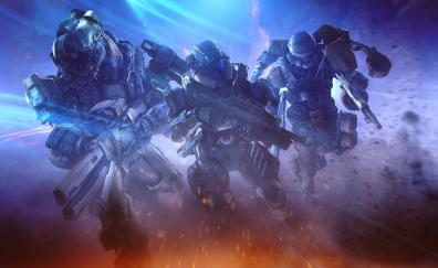 Soldiers halo spartans