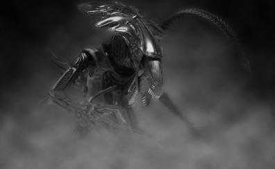 Alien predator digital art