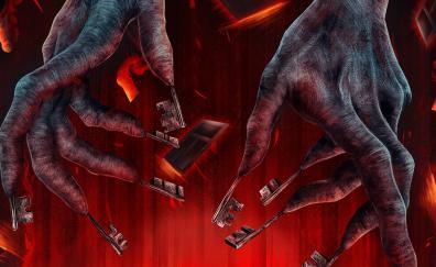 Insidious the last key movie hands 4k