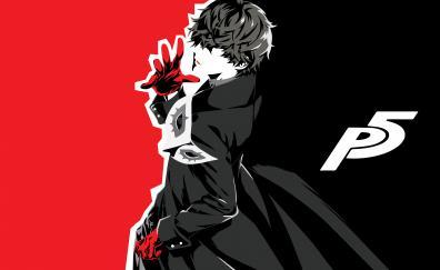 Akira kurusu anime persona 5 4k