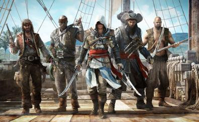 Assassins creed iv black flag pirates