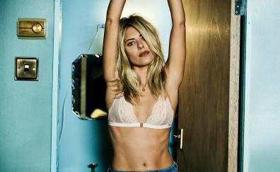 Mollie king arms up photoshoot 2018