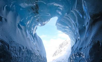 Ice cave nature