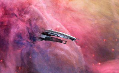 Mass effect video game spacecraft