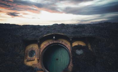 House hobbit movie set new zealand