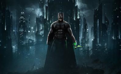Batman, dark, superhero, game, Injustice 2