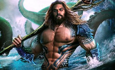 Aquaman artwork king of atlantic