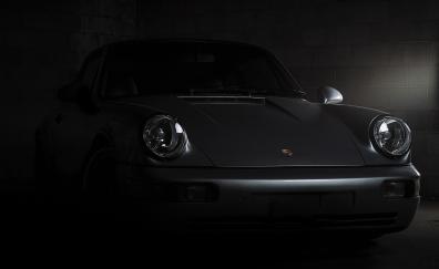 Porsche 911 carrera front 4k