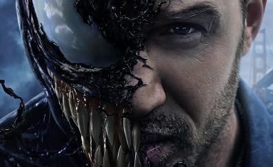 Venom tom hardy movie 5k