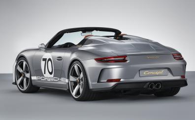 Convertible porsche 911 speedster concept 2018