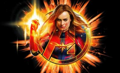 31 Captain Marvel Hd Wallpapers Desktop Pc Laptop Mac Iphone