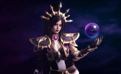 Diablo iii cosplay woman