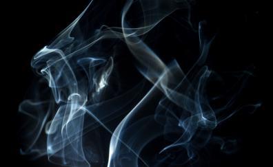 Smoke flame pattern minimal