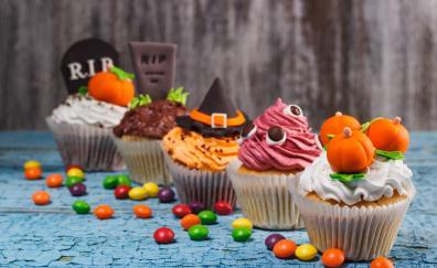 Halloween cupcakes dessert