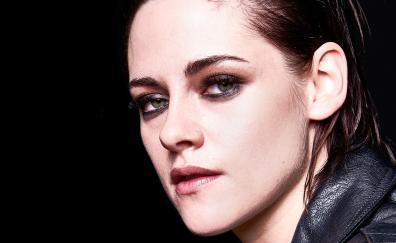 Kristen Stewart, makeup, face, portrait