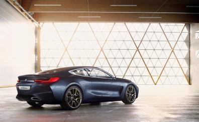 Luxurious bmw concept 8 series car