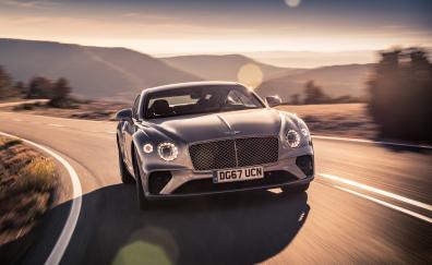 Bentley continental gt on road 2018