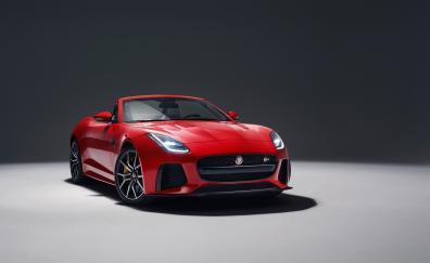 2018 jaguar f type svr front