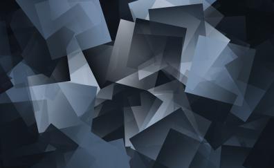Gray gradient pattern 4k