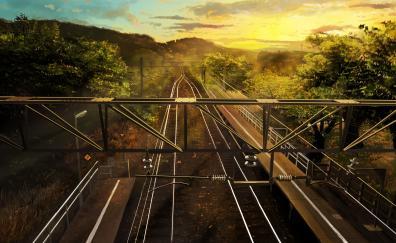 Railroads anime original